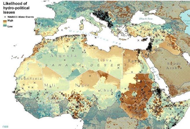 Budúce vojny o vodu? Vedci vytvorili mapu s možnými miestami konfliktu