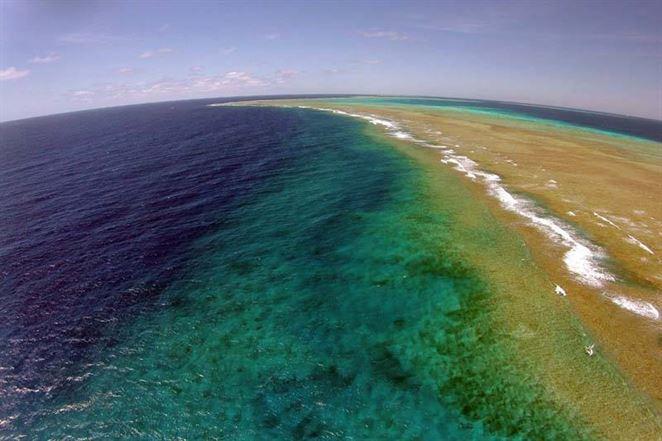 Veľká koralová bariéra bola zasiahnutá znečistenou vodou, ktorú bolo vidno z vesmíru