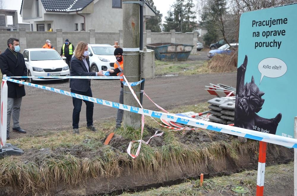 V obci na Záhorí odštartovala rekonštrukcia vodovodu za 3,1 milióna eur