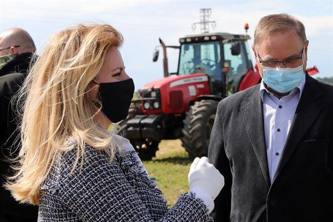 Problém sucha na Slovensku je vážny, tvrdí prezidentka