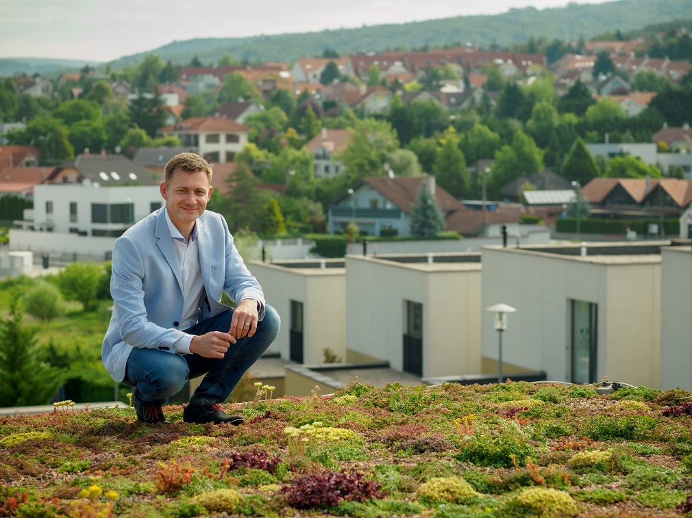 Branislav Siklienka: Nemci inštalovali zelené strechy už pred 40 rokmi, my sme ešte len na začiatku