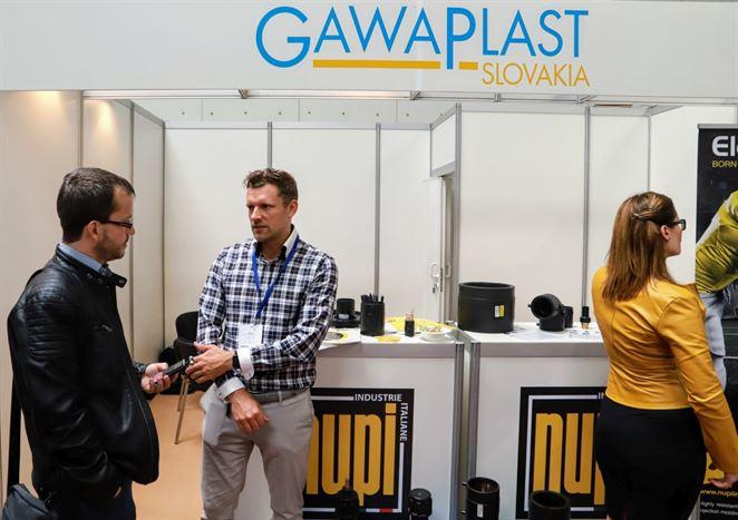 Gawaplast Slovakia predstavila na veľtrhu vodárenské produkty a zahraničnú skúsenosť