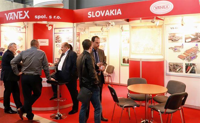 Na veľtrhu sa predstavil aj VANEX, zariadenia má umiestnené vo viac ako 520 lokalitách vrátane Ruska