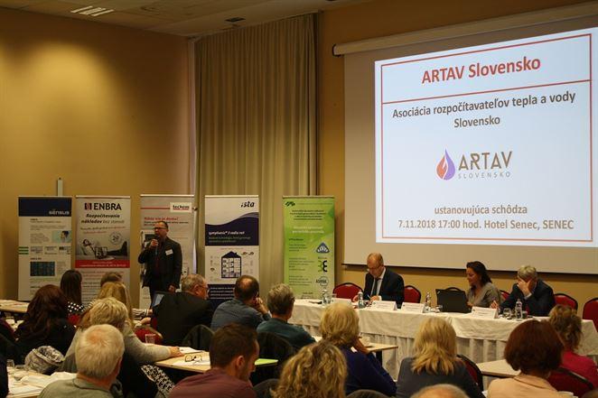 Vznikla Asociácia rozpočítavateľov tepla a vody Slovensko