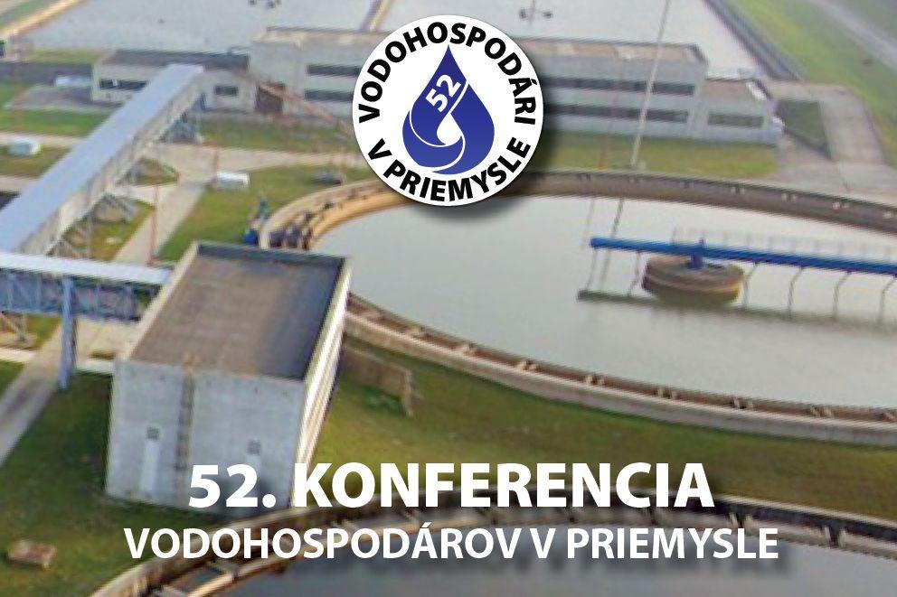 Pozvánka na konferenciu: 52. konferencia vodohospodárov v priemysle