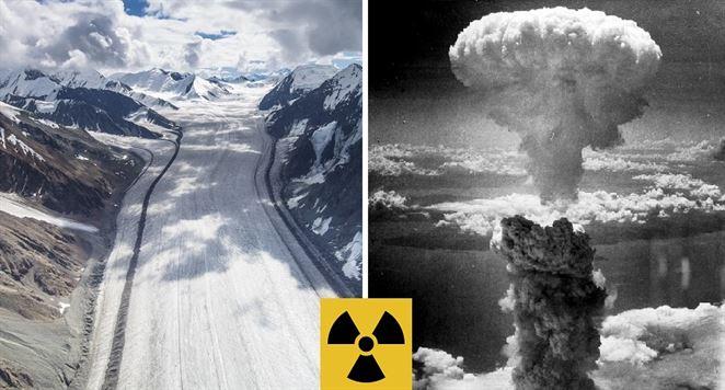 Roztápajúce sa ľadovce odhalili ďalšie prekvapenie: Vedci v nich objavili nukleárny spád