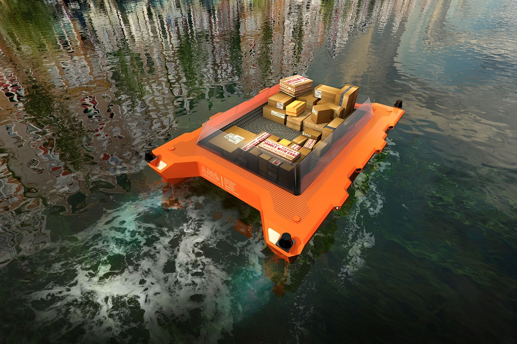 Po kanáloch v Amsterdame budú už onedlho plávať robotické lode