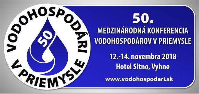 Pozvánka na konferencu: 50. medzinárodná konferencia vodohospodárov v priemysle