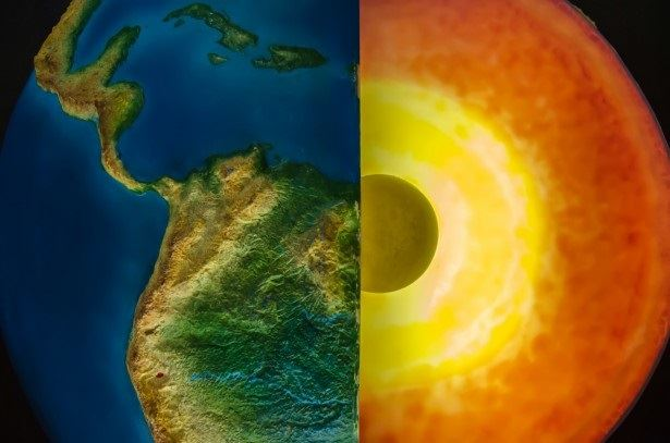 Najväčšia zásoba vody na Zemi sa zrejme nachádza v zemskom plášti